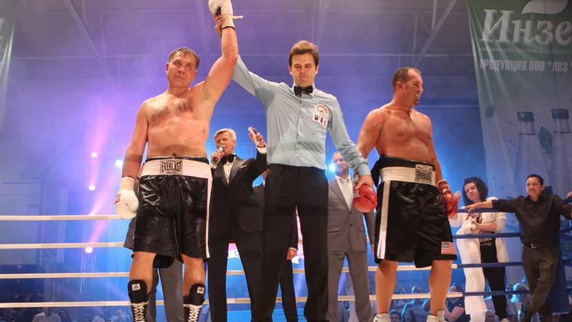 Олег Маскаев победил в своём втором бою после возвращения на ринг