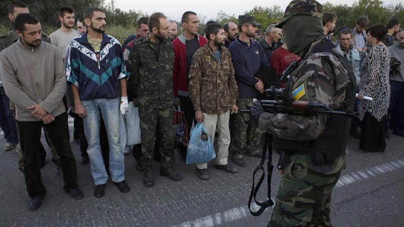 Украинские силовики выдают за военнопленных задержанных мирных жителей