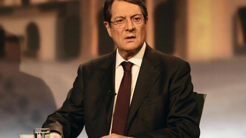 Президент Кипра: государство не видело такого кризиса со времен вторжения Турции в 1974 году