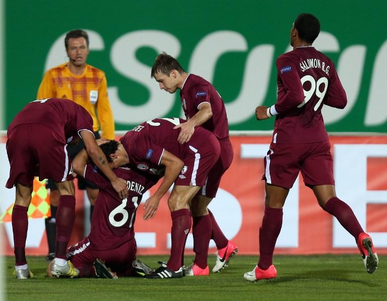 «Рубин» обеспечил себе выход в плей-офф Лиги Европы победой над «Нефтчи»