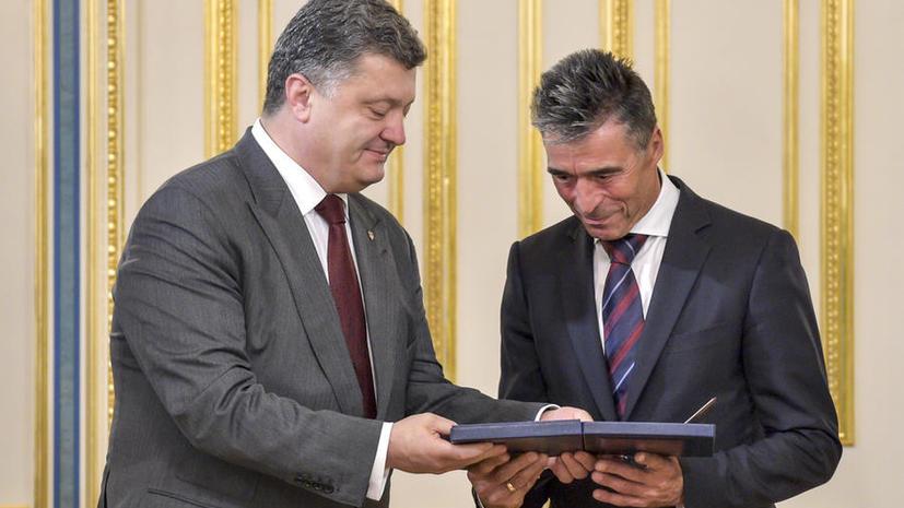 СМИ: Киеву стоит отказаться от НАТО ради мира и здравого смысла