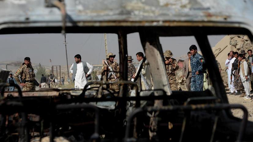 Консульство США в Афганистане подверглось вооружённому нападению