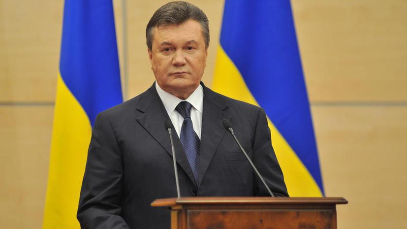 Виктор Янукович: Вооружённые силы Украины необходимо отвести в места постоянной дислокации
