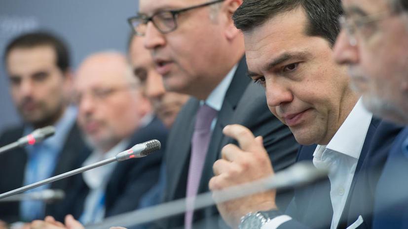Ципрас, Меркель, Олланд и глава Евросовета представили компромисс по долгу Греции