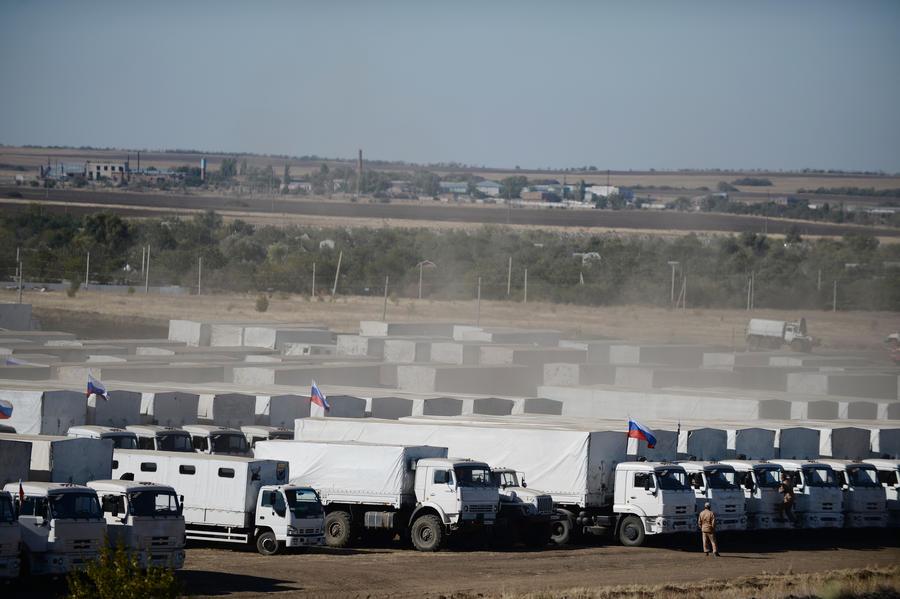 Российский Красный Крест и МЧС договорились о сотрудничестве при отправке гумпомощи на Украину