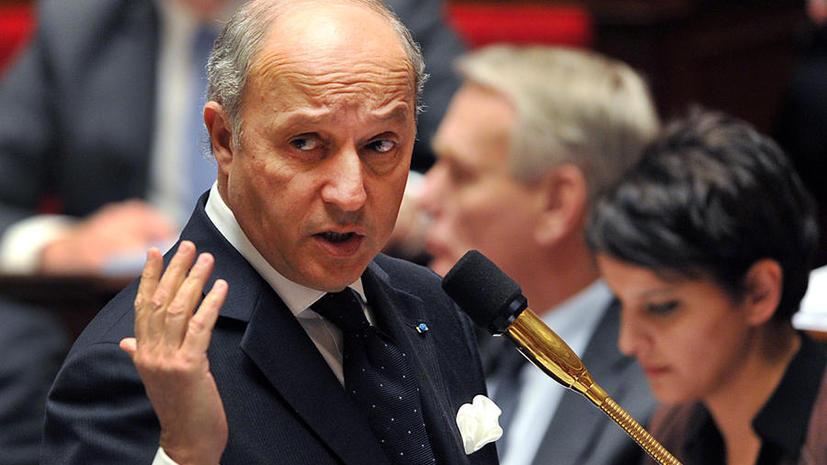 Франция готова поставлять вооружение сирийским повстанцам в обход эмбарго Евросоюза