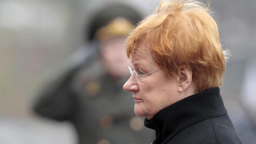 Экс-президент Финляндии Тарья Халонен: Конфликт в Югославии ничему не научил Запад