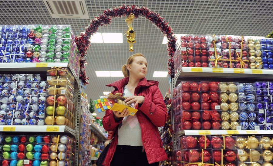 СМИ: Потребительский бум в преддверии новогодних праздников в России наступил на два месяца раньше