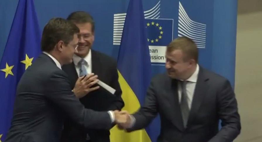 Россия, Украина и ЕК в Брюсселе достигли соглашения по зимнему газовому пакету