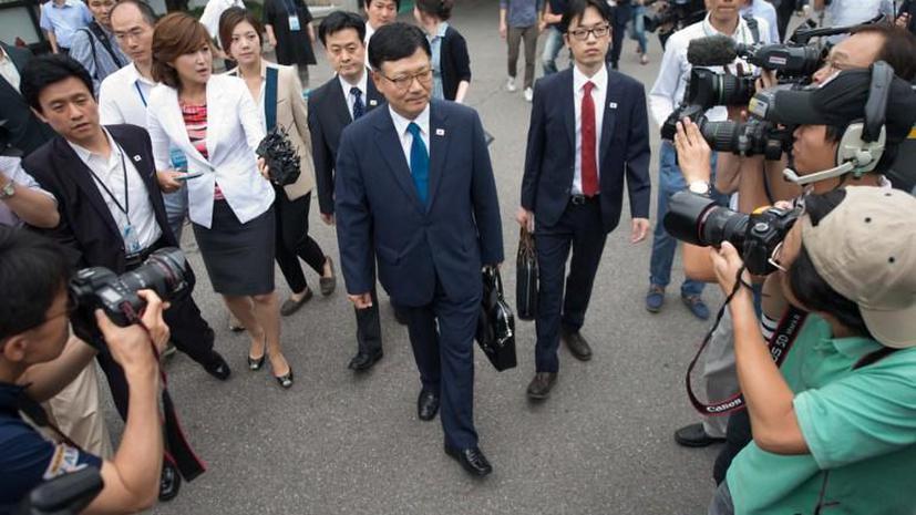 Власти КНДР возобновили переговоры с Южной Кореей