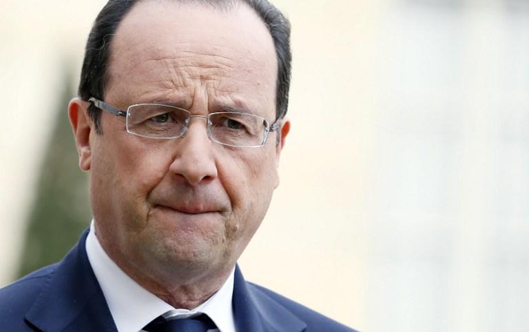 Политикой Франсуа Олланда недовольны 74% французов