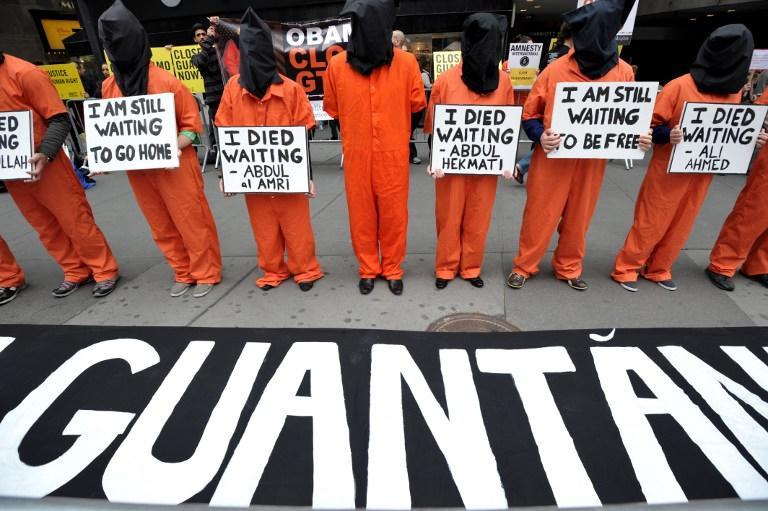 Митинги в поддержку узников Гуантанамо прошли по всей Америке