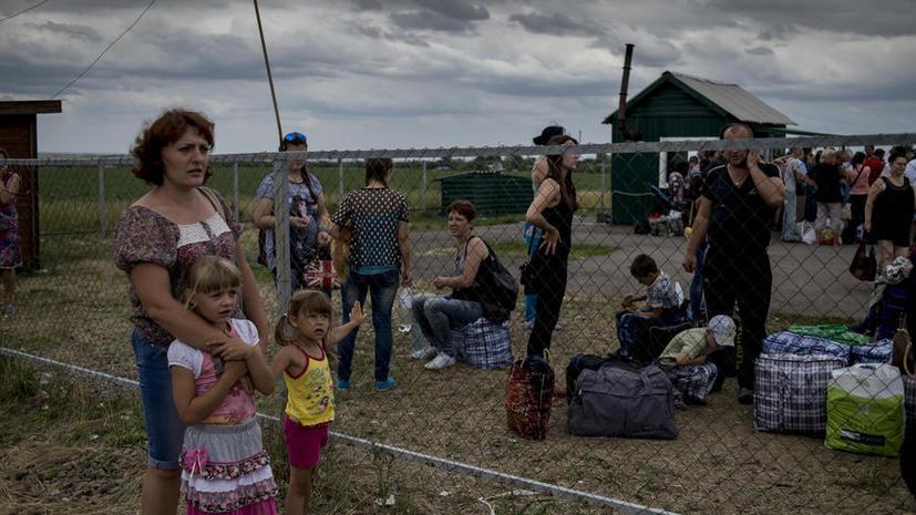 The Nation: Украинские беженцы боятся за близких и просят их переезжать в Россию