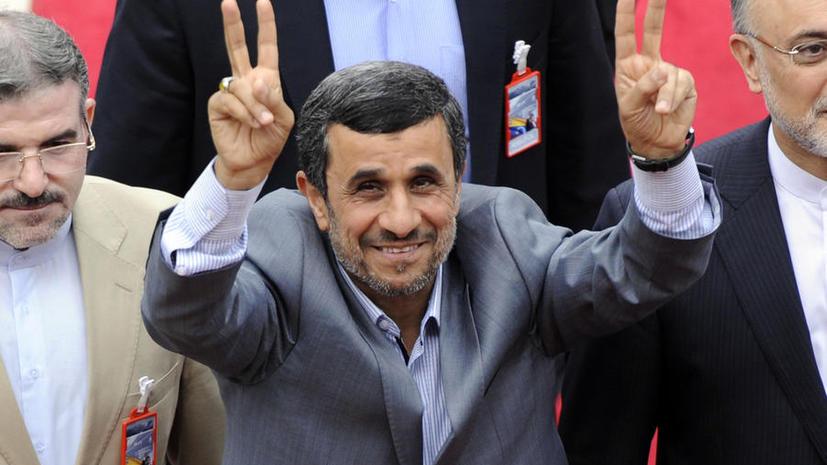 Ахмадинежада обещают высечь за нарушение при подготовке к выборам