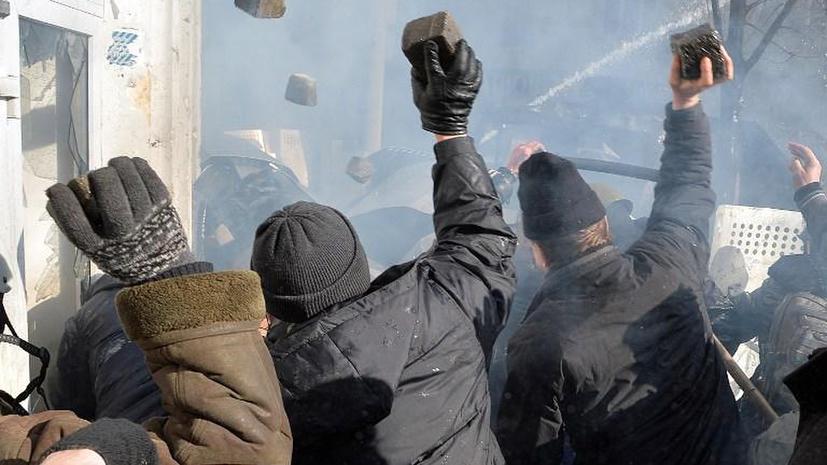 Милиция: В ходе беспорядков в Киеве погибли пять человек
