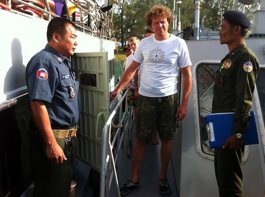Сергей Полонский стал подданным Камбоджи