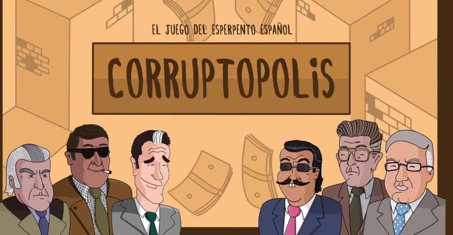 Corruptopolis: в Испании выйдет настольная игра по мотивам громких коррупционных скандалов