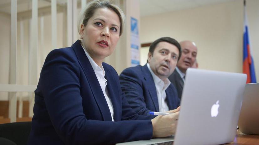 Суд признал Евгению Васильеву виновной в хищениях по делу «Оборонсервиса»