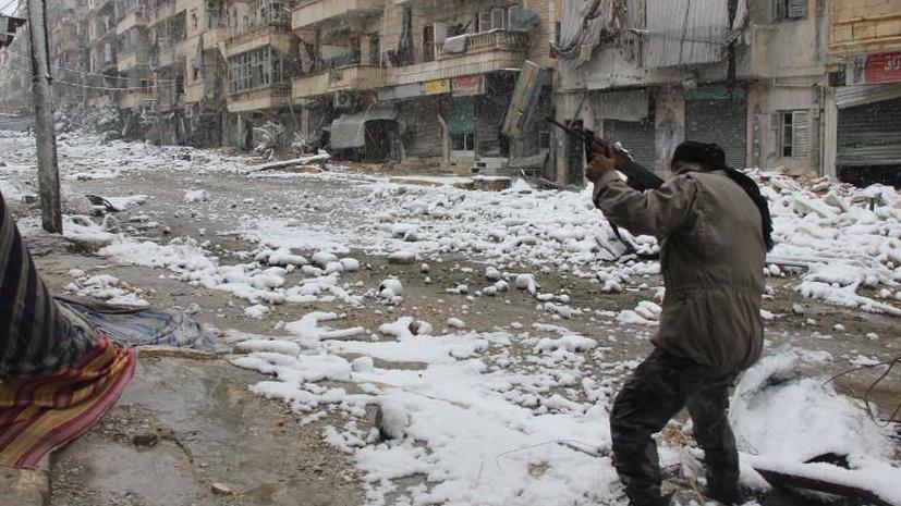 RT: Сирийские боевики казнили свыше 80 мирных жителей в городе Адра