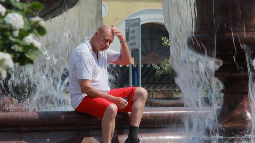 Московская жара бьёт температурные рекорды