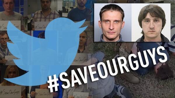 «Спасите наших парней»: Стартовала онлайн-акция по спасению российских журналистов из украинского плена