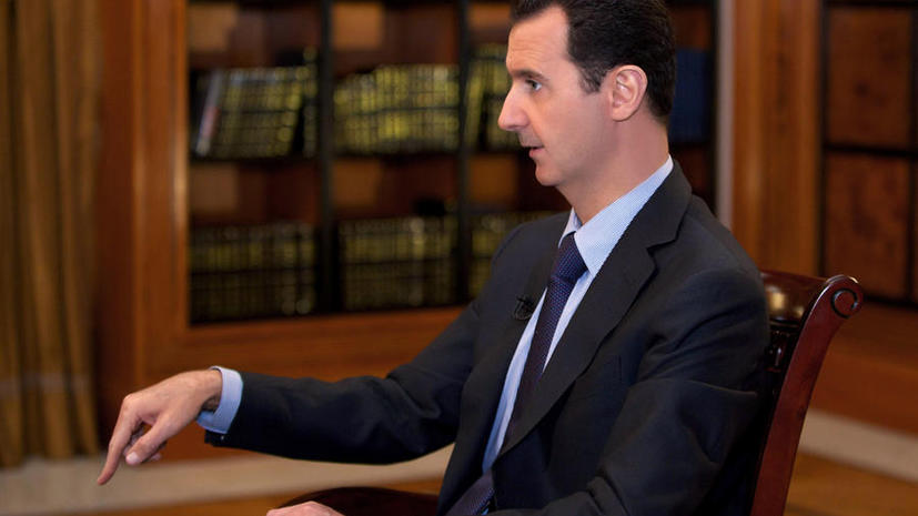 Башар Асад: Для мира в Сирии необходимо перекрыть каналы снабжения боевиков из-за границы