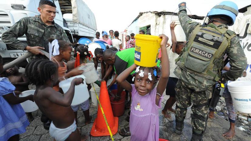 Жертвы холеры на Гаити подали в суд на ООН