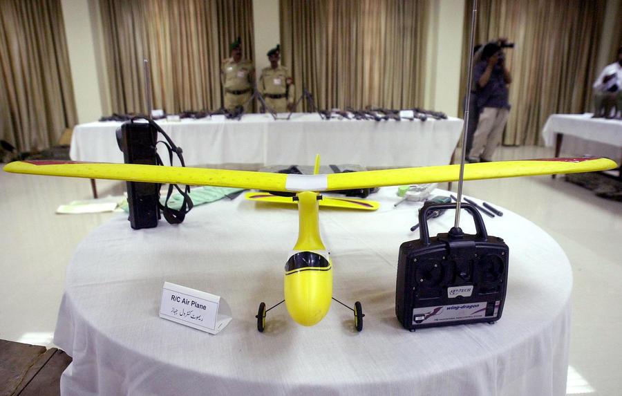 Пакистан включил в состав ВВС два типа дронов