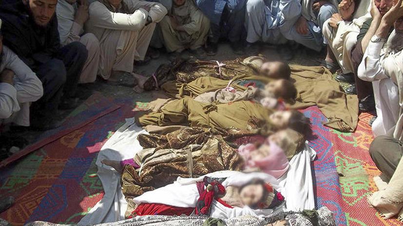 Авиаудар НАТО по Афганистану: убиты 10 детей