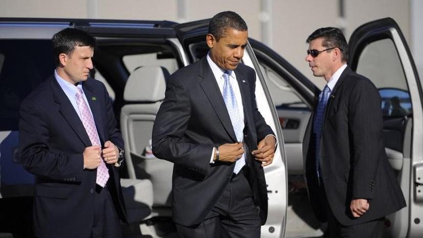 Барак Обама отказался обезоружить своих телохранителей