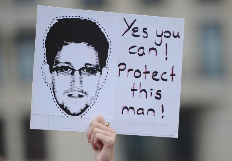 Сноуден запросил убежища ещё в шести странах
