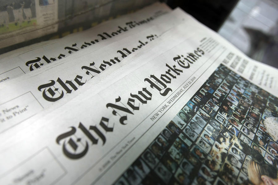 Американский журналист обвинил New York Times в намеренном искажении событий на Украине