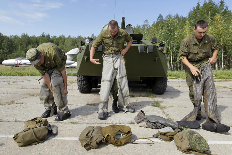 Россия может отправить в Сирию войска для уничтожения химоружия