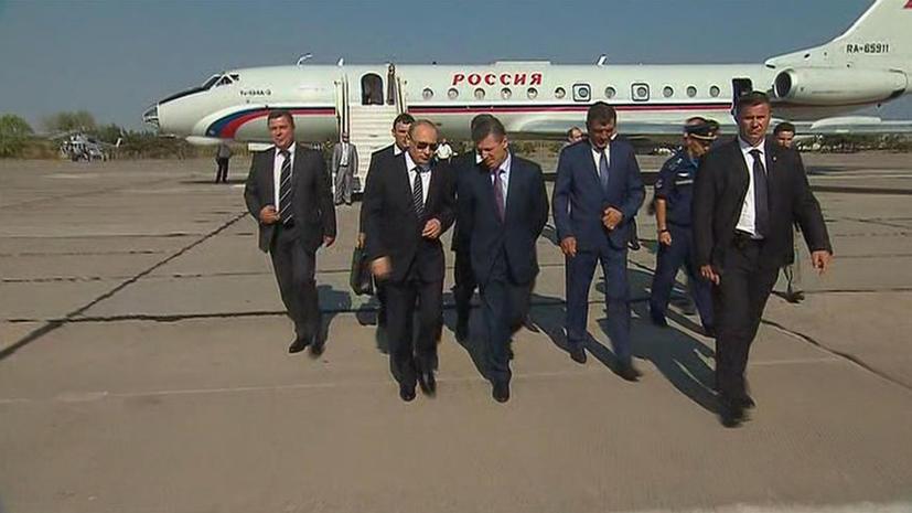 Владимир Путин прибыл в Крым и провёл заседание Совбеза РФ