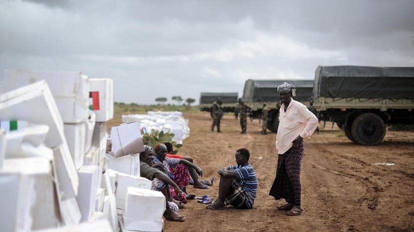 Британская гуманитарная помощь для Сомали попала в руки «Аль-Каиды»