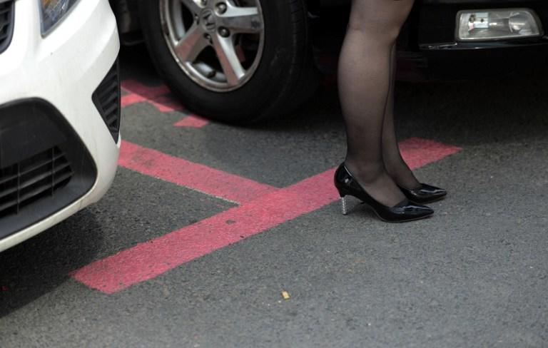 В Китае появились первые парковочные места для женщин