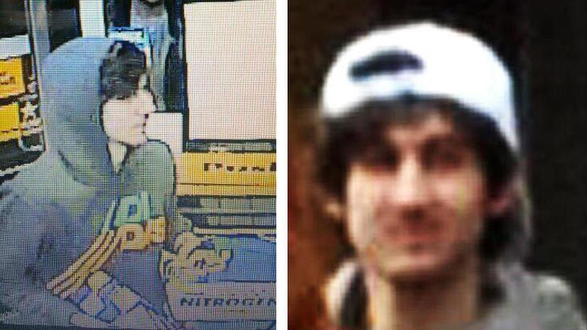 Полиция Бостона: террорист в белой кепке надел пояс смертника