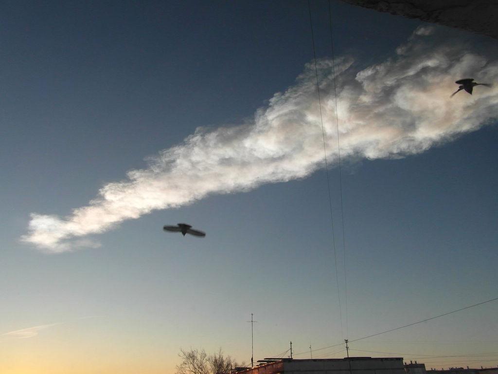 Ученые РАН обвинили НАСА в преувеличении мощности челябинского метеорита