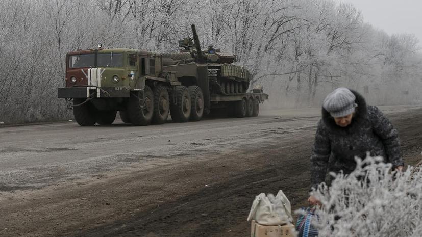 Первая ночь перемирия на востоке Украины — хронология событий