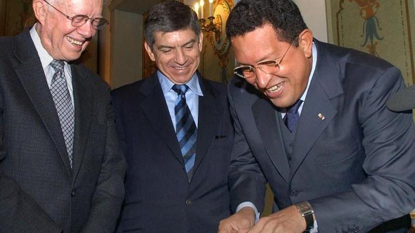 Я знал этого человека: Экс-президент США Джимми Картер помянул Уго Чавеса добрым словом