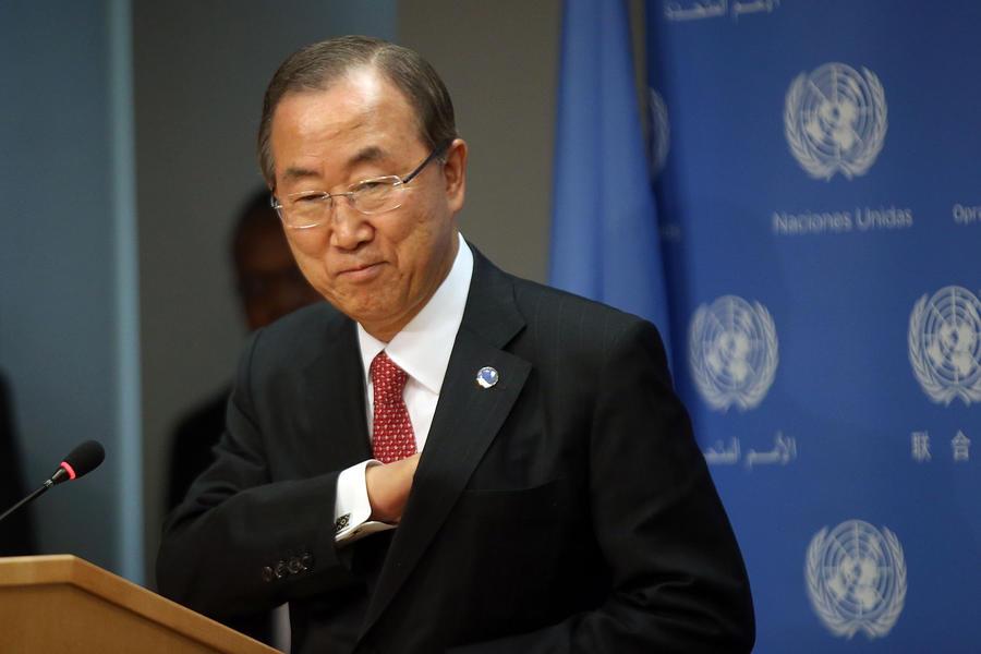 Пан Ги Мун в Петербурге призвал международное сообщество найти политическое решение для Сирии