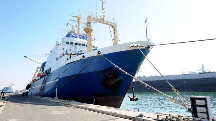 Посольство России в Сенегале опровергло информацию об освобождении траулера «Олег Найдёнов»