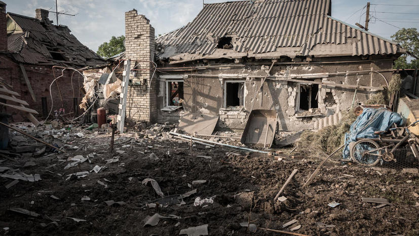 Сегодня в ДНР объявлен траур по погибшим в результате обстрела Горловки мирным жителям