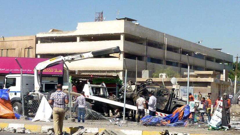 Жертвами серии взрывов в Багдаде стали свыше 50 человек