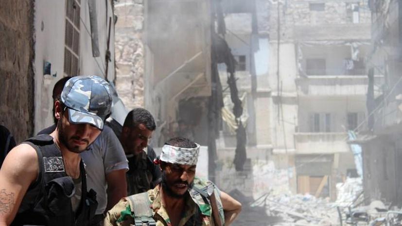 Теракт в тюрьме Алеппо мог устроить британский гражданин