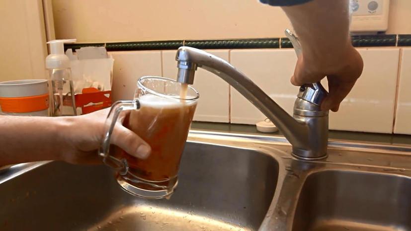 Новозеландцу заменили воду в кране на пиво