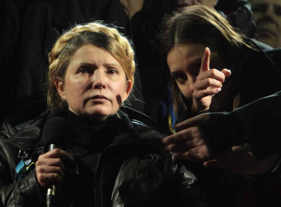 Юлия Тимошенко: Прошу не рассматривать мою кандидатуру на пост главы правительства