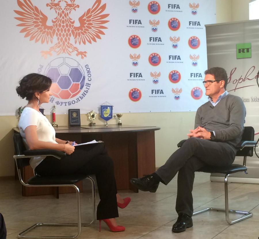 Фабио Капелло в эксклюзивном интервью RT: Я выбрал Россию, потому что для меня это новый вызов