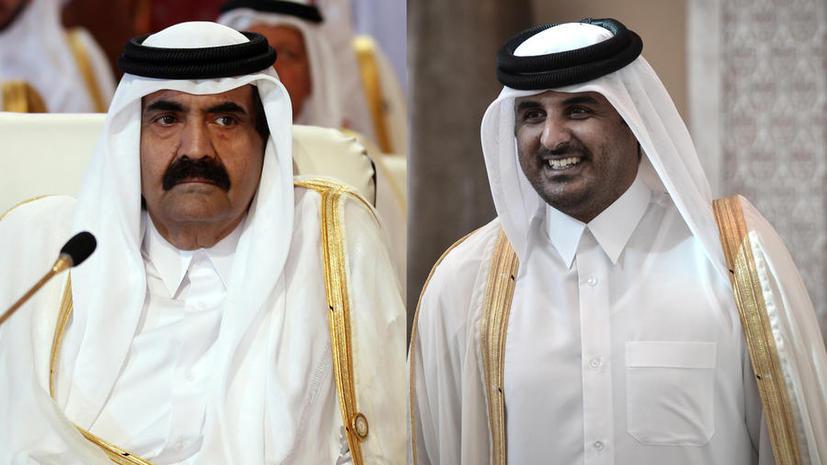 Эмир Катара отрёкся от престола в пользу сына