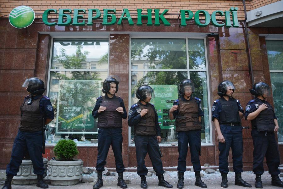 СМИ: Российские банки стали самыми прибыльными на Украине